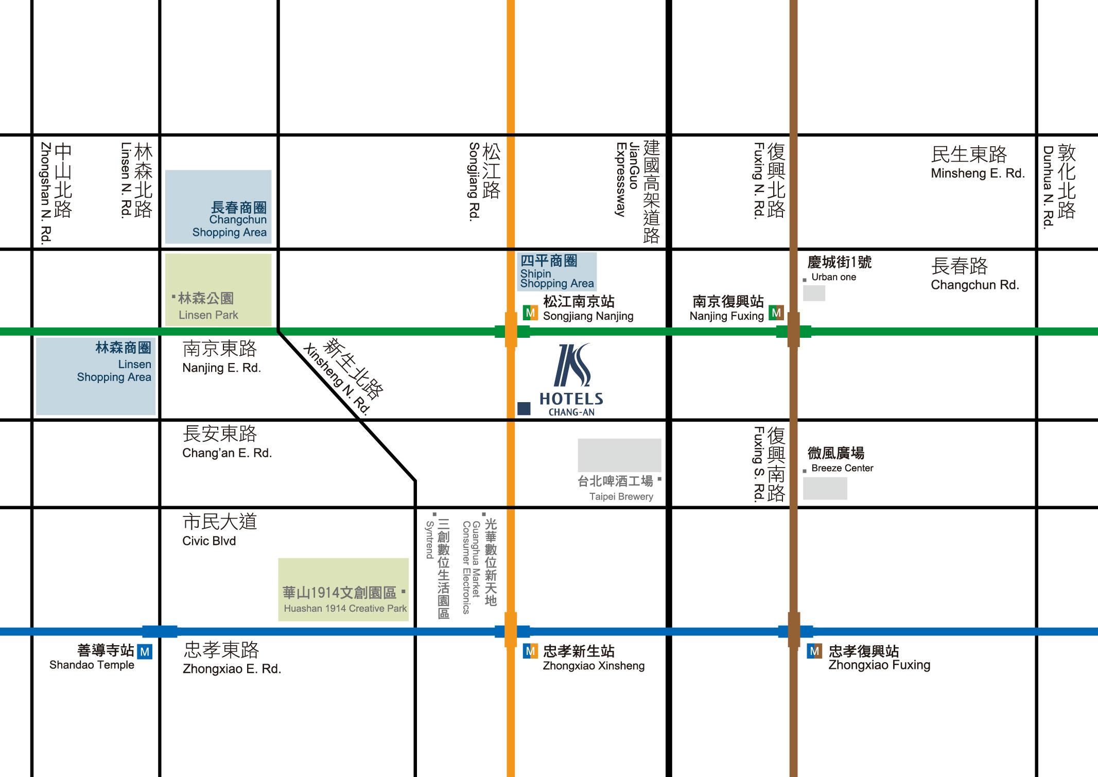 柯達大飯店 - Location